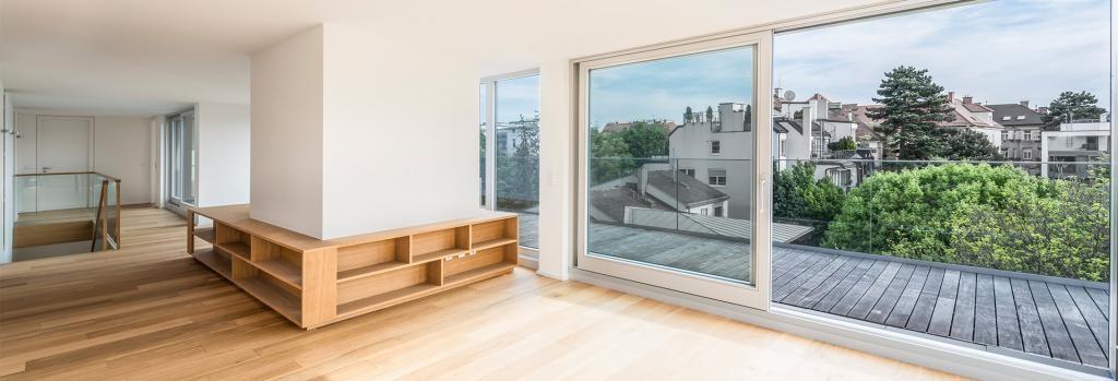 tolles Jahrhundertwendehaus Penthouse mit tollem Ausblick und Gartenbenützung /  / 1180Wien / Bild 7