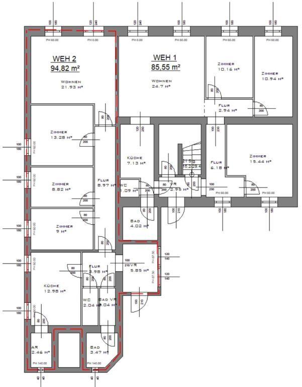 jpgcnt ---- Wohnen und Arbeiten im GRÜNEN - Zweifamilienhaus- EIGENGARTEN - Geschäftsräume/Ordination - BESTE LAGE /  / 1130Wien / Bild 5
