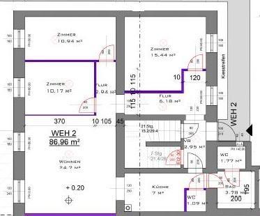 jpgcnt ---- Neusanierte Gartenwohnung in bester Lage, Haus mit nur 2 Wohnungen /  / 1130Wien / Bild 5