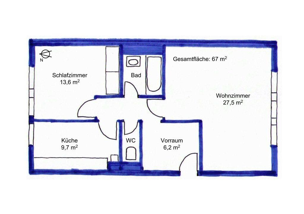 jpgcnt ---- Top Lage in Alt-Hietzing: hell, ruhig, grün 2 Zimmer mit separater Küche, Garagenplatz möglich /  / 1130Wien / Bild 4