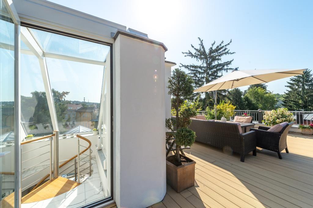 jpgcnt ---- Elegante 4 Zimmer Dachgeschoßwohnung / 70 m² wunderschöner Terrasse / Wienblick / Lainzer Tiergarten /  / 1130Wien, Hietzing / Bild 5