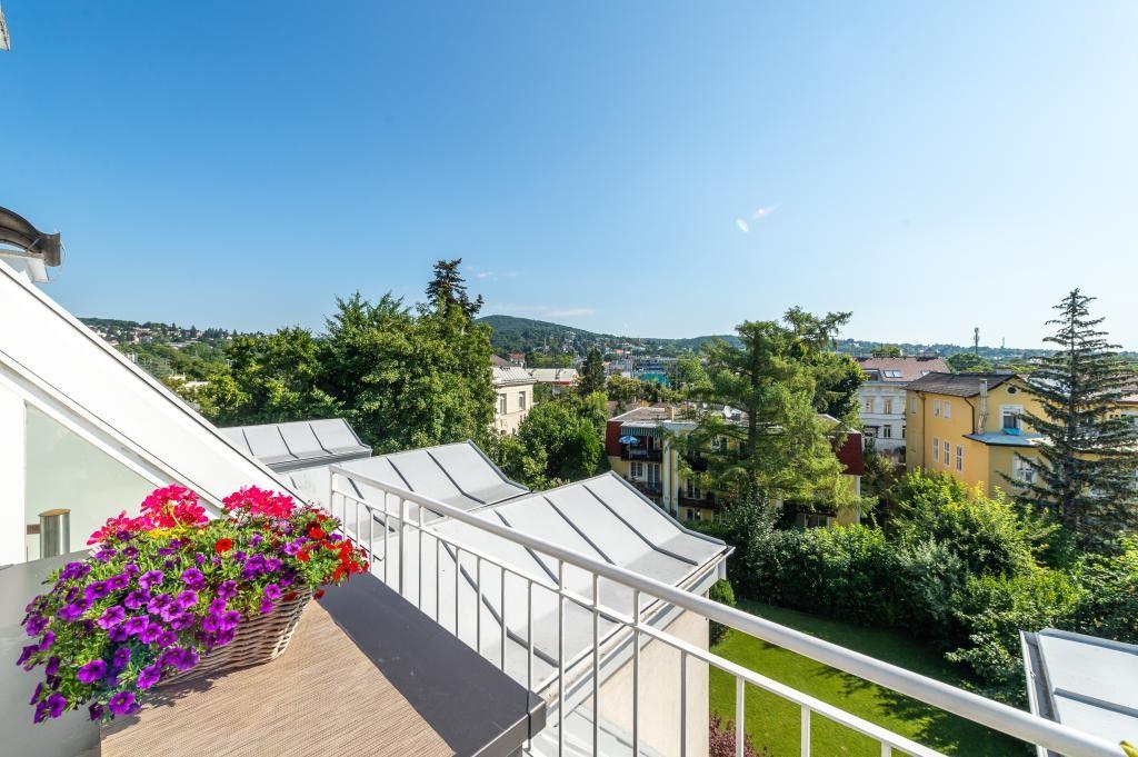 jpgcnt ---- Elegante 4 Zimmer Dachgeschoßwohnung / 70 m² wunderschöner Terrasse / Wienblick / Lainzer Tiergarten /  / 1130Wien, Hietzing / Bild 6