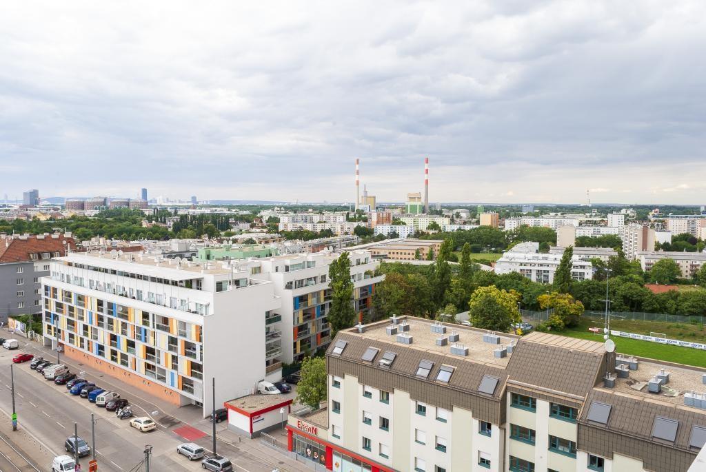 jpgcnt ---- Achtung Neubau :-) Wohlfühlzone im 10.Stock mit 10m² Loggia! Erstbezug! /  / 1110Wien / Bild 1
