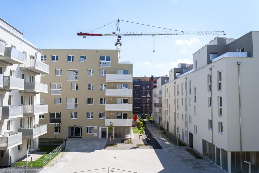 jpgcnt ---- Erstbezug! Neubau! Balkon! Moderner Grundriss! /  / 1110Wien / Bild 2