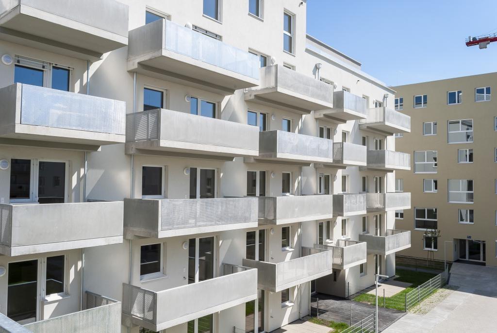 jpgcnt ---- Erstbezug! Neubau! Balkon! Moderner Grundriss! /  / 1110Wien / Bild 3
