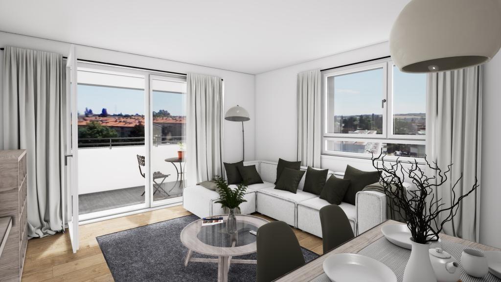 Erstbezug! 4-Zimmer-Dachgeschoss-Wohnung mit Terrasse!