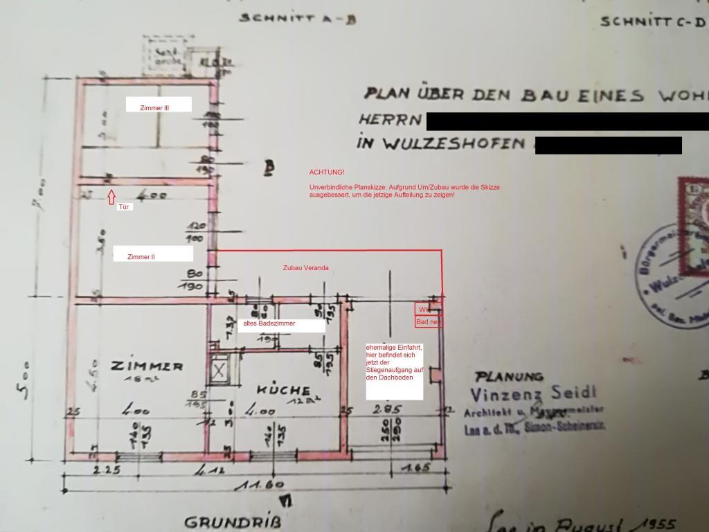 Zwei Häuser auf einem Grundstück /  / 2064Wulzeshofen / Bild 11
