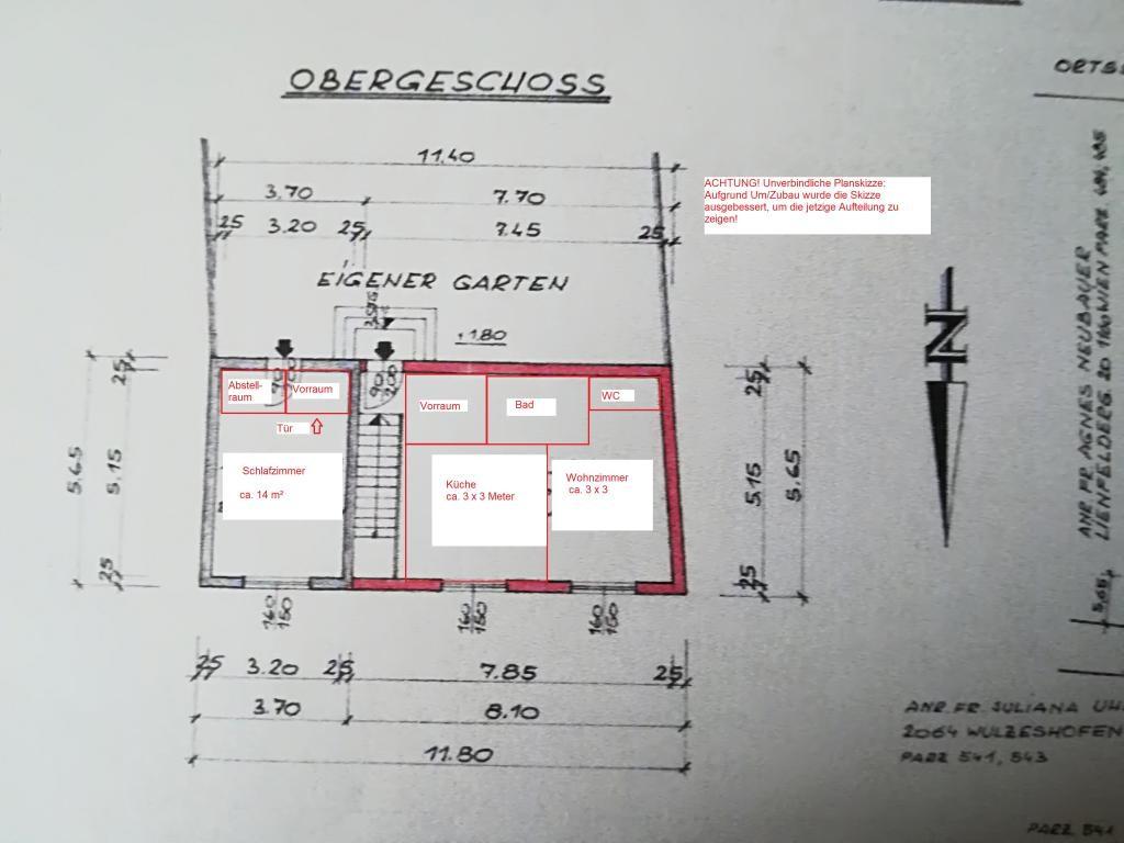 Zwei Häuser auf einem Grundstück /  / 2064Wulzeshofen / Bild 12