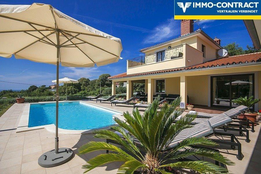 Villa Palman, Meer und Sand