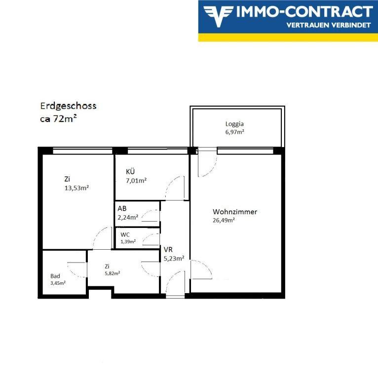 Sonnige 2 Zimmer - Wohnung mit Loggia /  / 3500Krems an der Donau / Bild 1