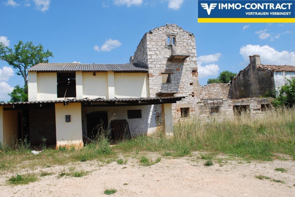 Istrien - Grundstück mit Meerblick und Projekt sucht Investor /  / 52474Karigador / Bild 1