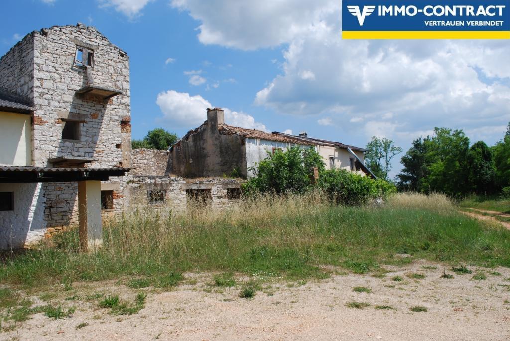 Istrien - Grundstück mit Meerblick und Projekt sucht Investor /  / 52474Karigador / Bild 2