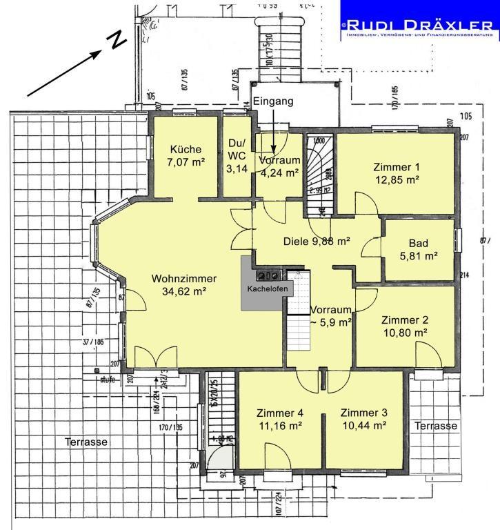 Tolles Einfamilienhaus mit uneinsehbarem Garten und vielen Extras /  / 3012Wolfsgraben / Bild 14