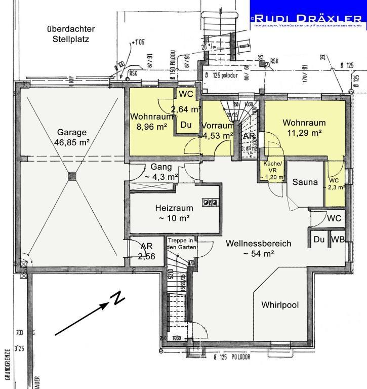 Tolles Einfamilienhaus mit uneinsehbarem Garten und vielen Extras /  / 3012Wolfsgraben / Bild 15