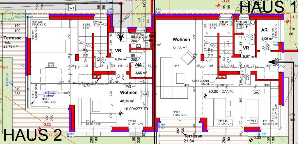 Doppelhaushälfte im Ortszentrum - ERSTBEZUG - PROVISIONSFREI /  / 2384Breitenfurt bei Wien / Bild 1