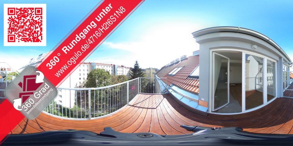 ERSTBEZUG! DG-BALKONWOHNUNG NAHE HAUPTBAHNHOF/360 Grad Rundgang online möglich