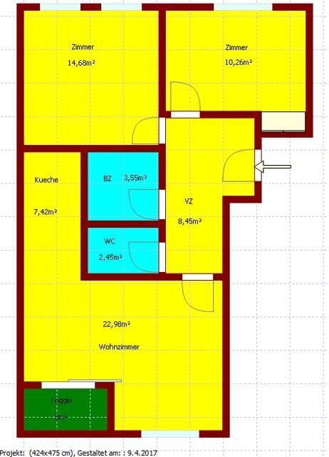 3-Zimmerwohnung mit Loggia /  / 1220Wien / Bild 5