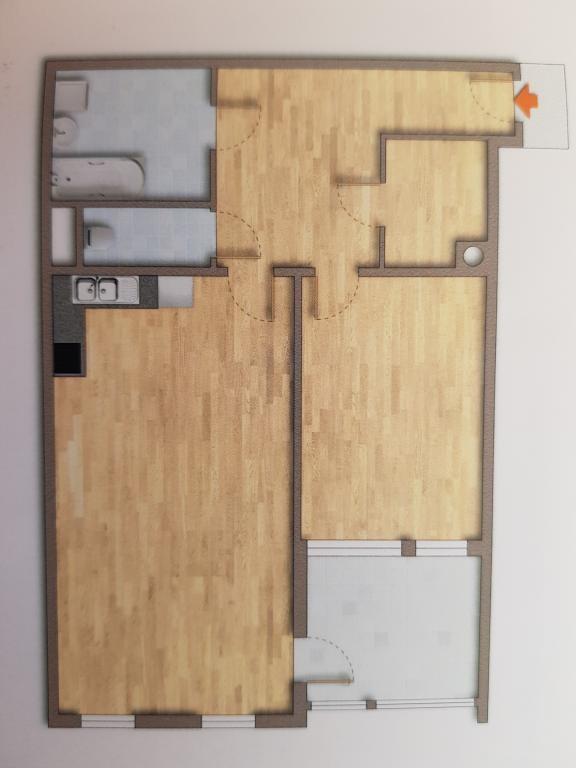 Neubau 2 Zimmerwohnung mit Loggia im 5.Liftstock /  / 1200Wien / Bild 2