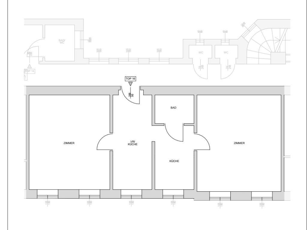 Helle 2 Zimmer Altbauwohnung im 2.Stock /  / 1160Wien, Ottakring / Bild 2