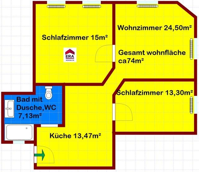 frisch renovierte Wohnung mit guter Infrastruktur /  / 1100Wien, Favoriten / Bild 0