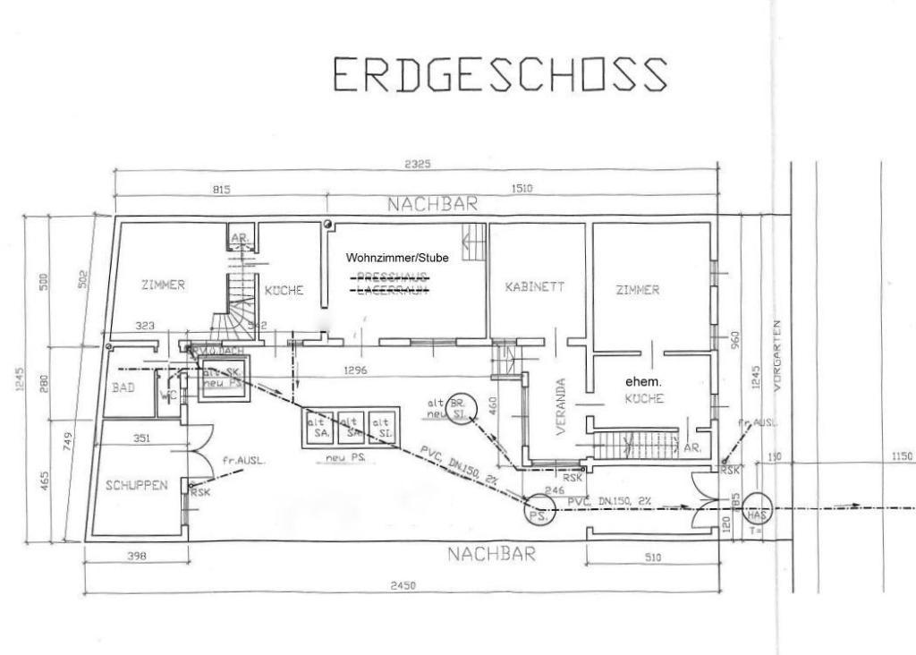 Altes Weinhauerhaus in Pfaffstätten - renovierungsbedürftig! /  / 2511Pfaffstätten / Bild 13