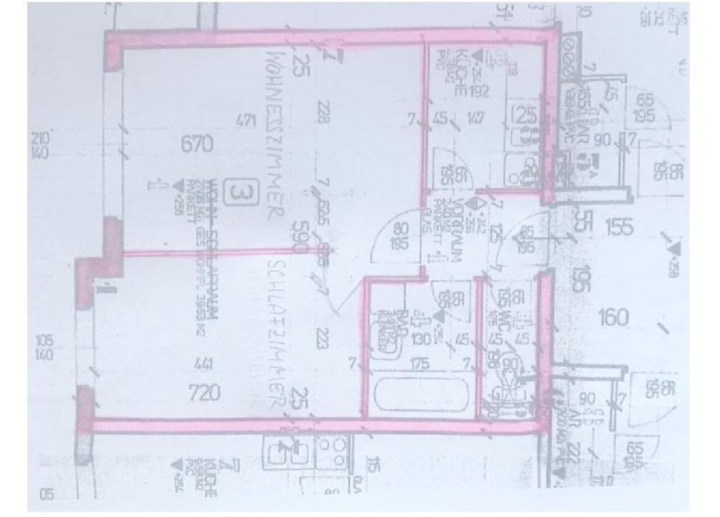 jpgcnt ---- Straßburg Stadt- Ortsrandlage: Nette 42 m² EGT-Wohnung in ruhiger Lage /  / 9341Straßburg-Stadt / Bild 2