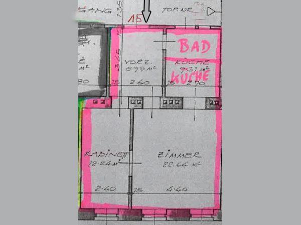 jpgcnt ---- Preishit! 2-Zimmer Altbau am Währinger Gürtel /  / 1090Wien / Bild 1