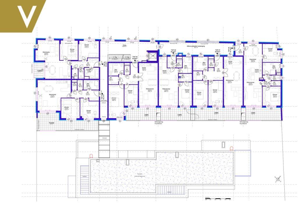 Traumhafte Wohnung mit Loggia nähe Donauzentrum - Provisionsfrei // Fantastic apartment with loggia near Danube Centre - commission free // /  / 1220Wien / Bild 8
