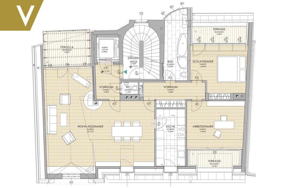 Ein Dachgeschoss-Juwel in Grinzing // A Penthouse Jewlery in Grinzing /  / 1190Wien / Bild 13