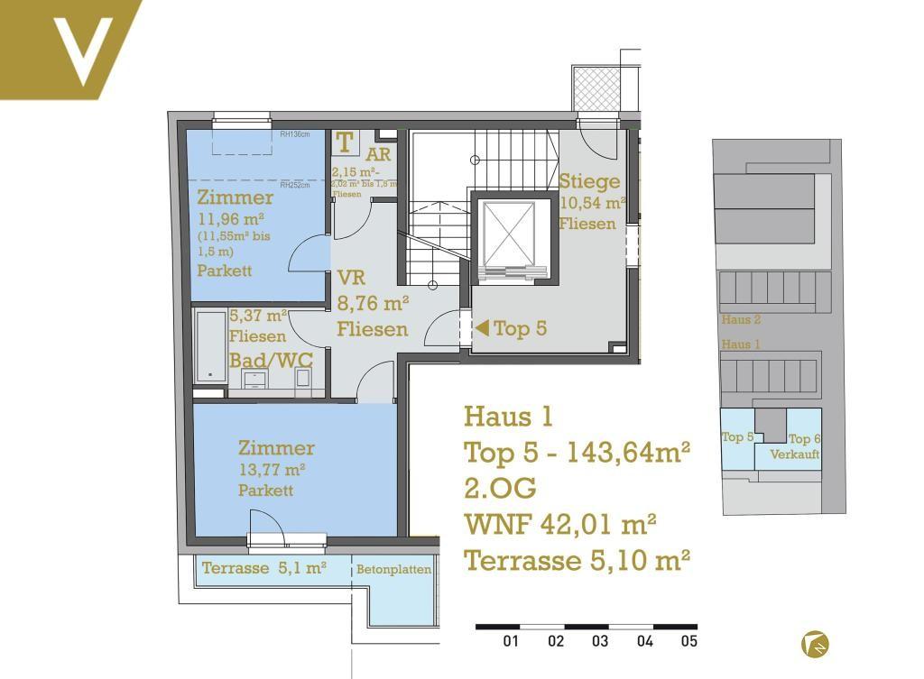 Dachgeschossmaisonette mit südseitiger Terrasse - Provisionsfrei // Attic-Duplex with south facing Terrace - Commissionfree // /  / 1220Wien / Bild 0