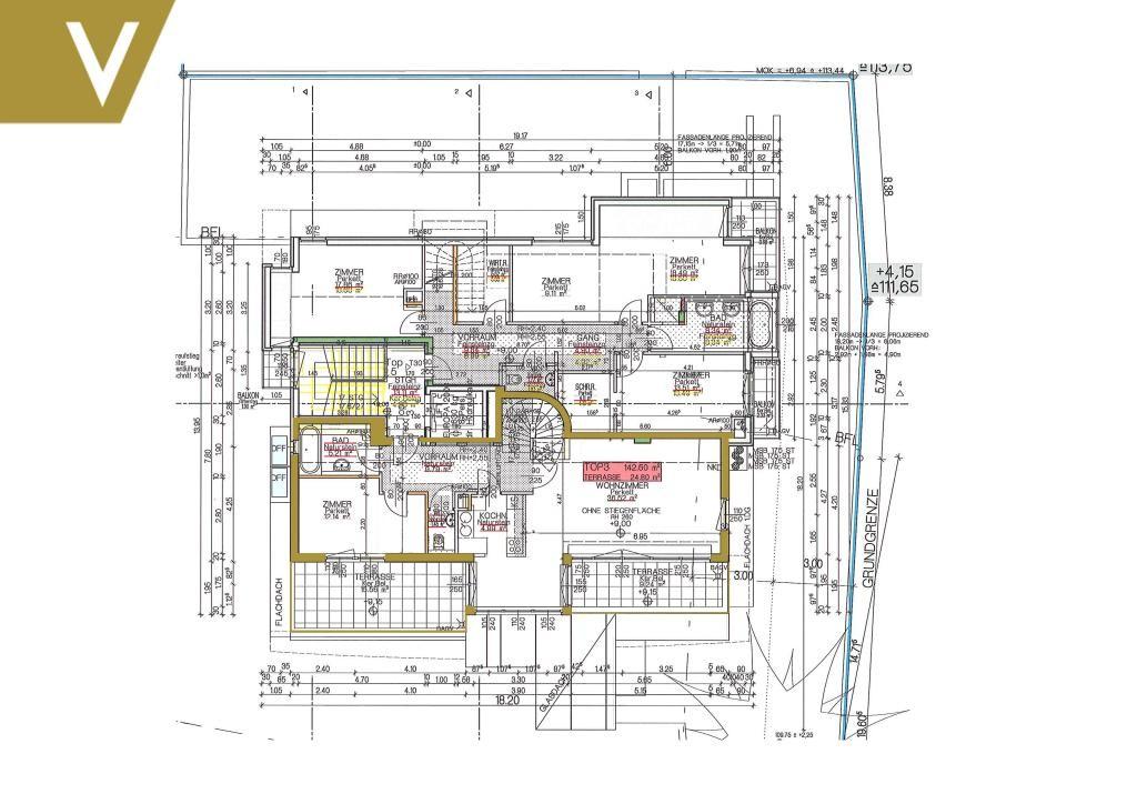 Moderne Terrassen-Maisonette mit 4 Schlafzimmer // Modern Terrace Duplex with 4 Bed-Rooms /  / 1180Wien / Bild 19