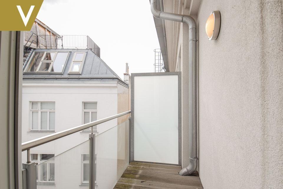 Luxus-Dachgeschoss mit Grillanlage auf der Terrasse // Luxury attic with barbecue on the terrace /  / 1010Wien / Bild 8