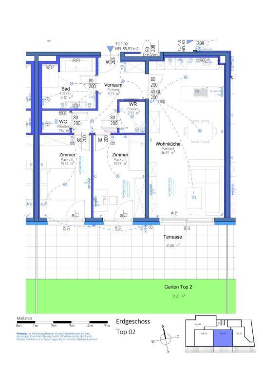 jpgcnt ---- Attraktive Gartenwohnung in Aspern  - Provisionsfrei // Lovely garden apartment in Aspern - Commission FREE /  / 1220Wien / Bild 4