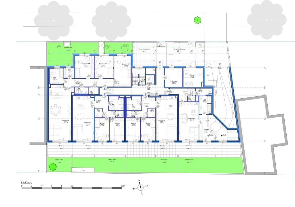 jpgcnt ---- Attraktive Gartenwohnung in Aspern  - Provisionsfrei // Lovely garden apartment in Aspern - Commission FREE /  / 1220Wien / Bild 5