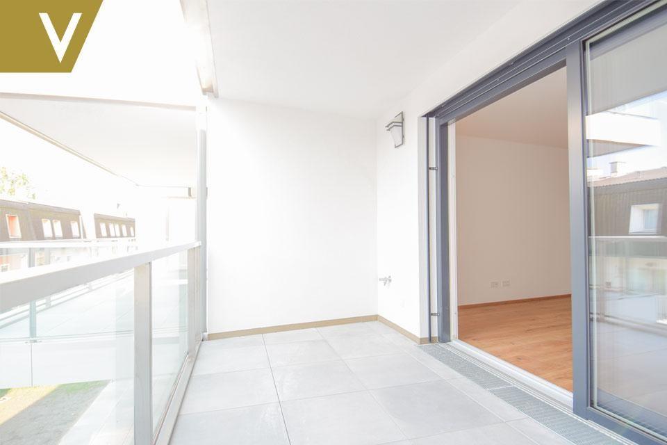 Schöne Wohnung mit Loggia in Aspern - PROVISIONSFREI // Beautiful apartment with loggia in Aspern - Commissionfree // /  / 1220Wien / Bild 2
