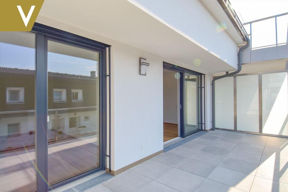 3 Zimmerwohnung mit riesigem Balkon in Aspern - PROVISIONSFREI // 3 room apartment with huge balcony in Aspern - Commissionfree // /  / 1220Wien / Bild 1