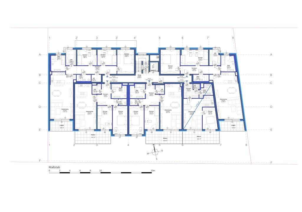 jpgcnt ---- 3 Zimmerwohnung mit riesigem Balkon in Aspern - PROVISIONSFREI // 3 room apartment with huge balcony in Aspern - Commissionfree /  / 1220Wien / Bild 4