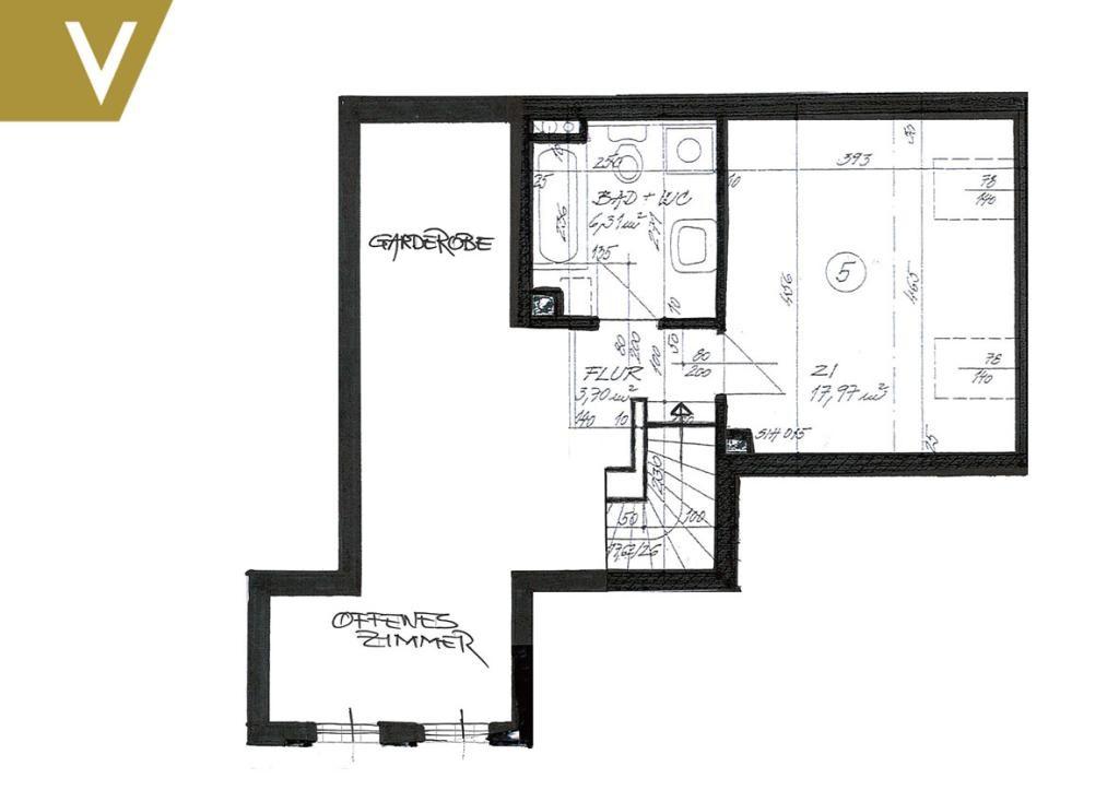 Moderne Maisonette im Grünen // Modern Duplex in the greenery /  / 1190Wien / Bild 11