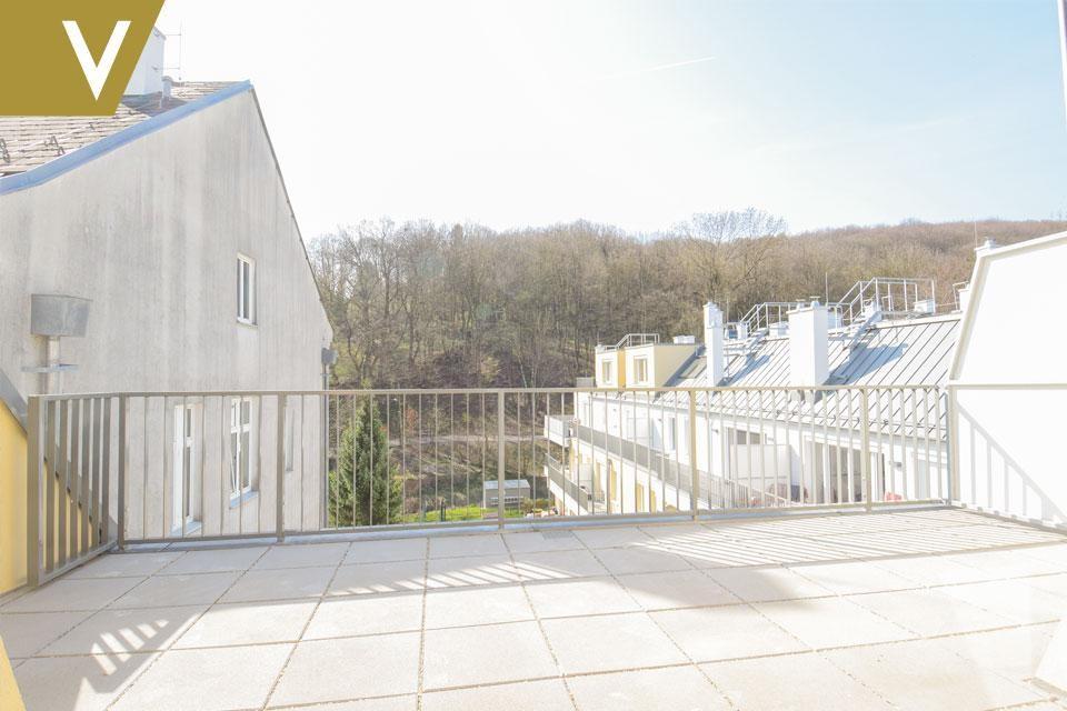 Maisonette mit 2 Terrassen im Grünen - Provisionsfrei // Dupplex-Apartment with 2 terraces in the greenery - Commissionfree /  / 3412Kierling / Bild 0