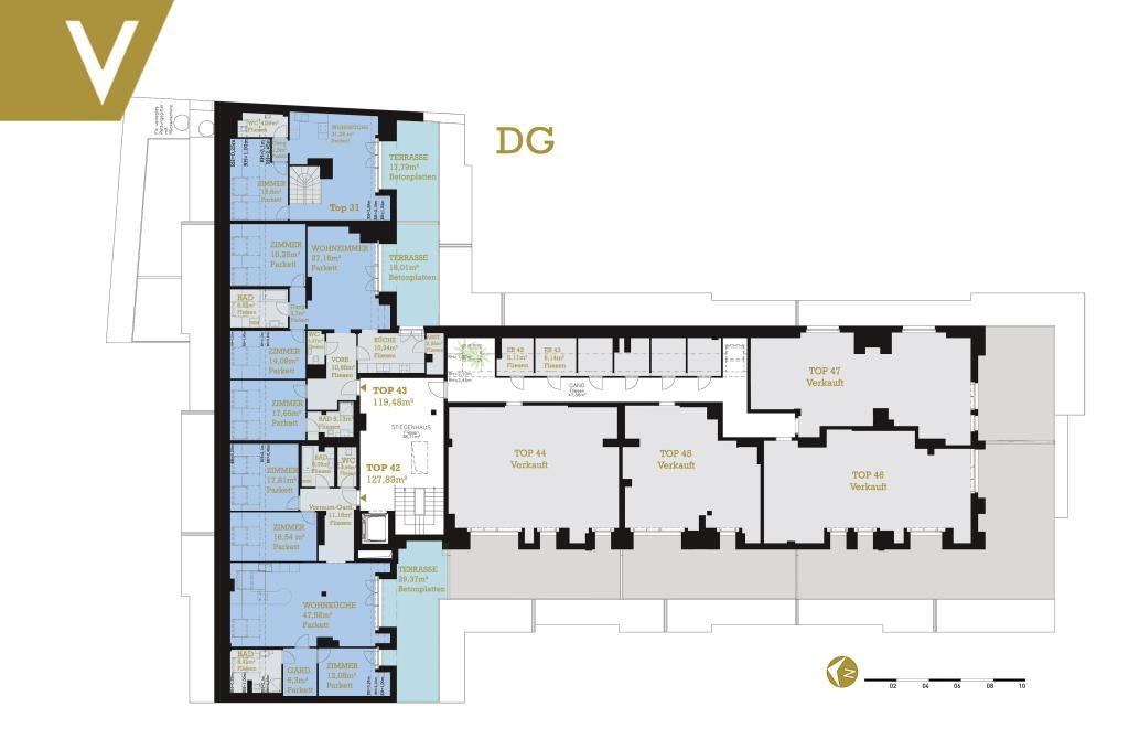 Maisonette mit 2 Terrassen im Grünen - Provisionsfrei // Dupplex-Apartment with 2 terraces in the greenery - Commissionfree /  / 3412Kierling / Bild 6
