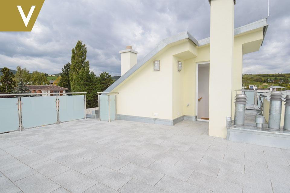 Luxus-Maisonette mit Rundum-Weitblick und 2 optionale Garagenplätze // Luxury duplex with panoramic views and 2 optional garages /  / 1190Wien / Bild 4
