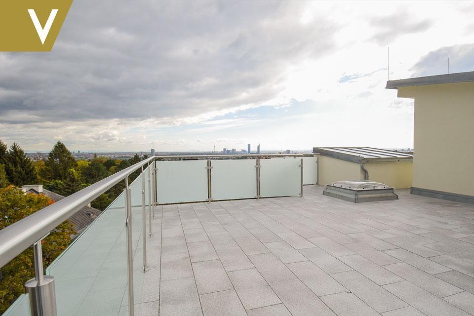 Luxus-Maisonette mit Rundum-Weitblick und 2 optionale Garagenplätze // Luxury duplex with panoramic views and 2 optional garages /  / 1190Wien / Bild 5