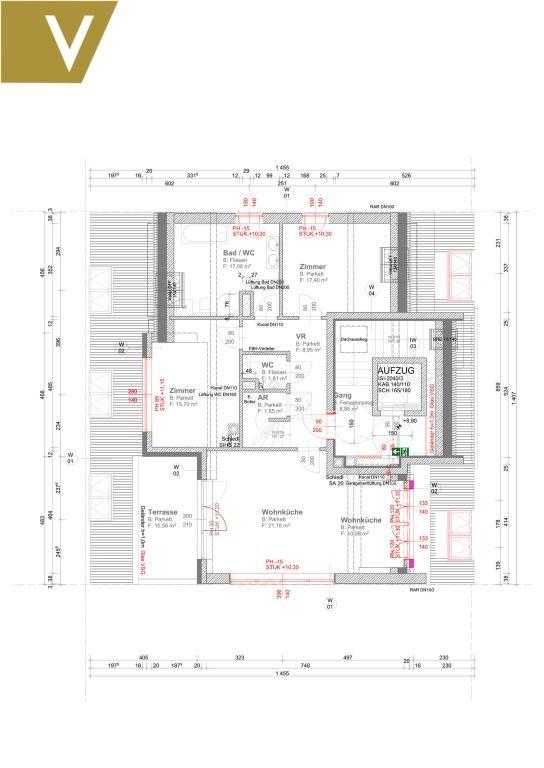 Luxus-Maisonette mit Rundum-Weitblick und 2 optionale Garagenplätze // Luxury duplex with panoramic views and 2 optional garages /  / 1190Wien / Bild 10