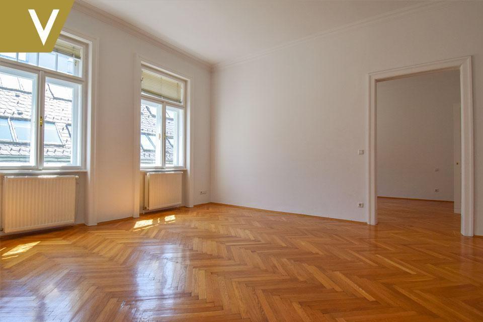 Wunderschöne Wohnung im prachtvollen Altbau // Beautiful Apartment in magnificent Century Building /  / 1040Wien / Bild 2
