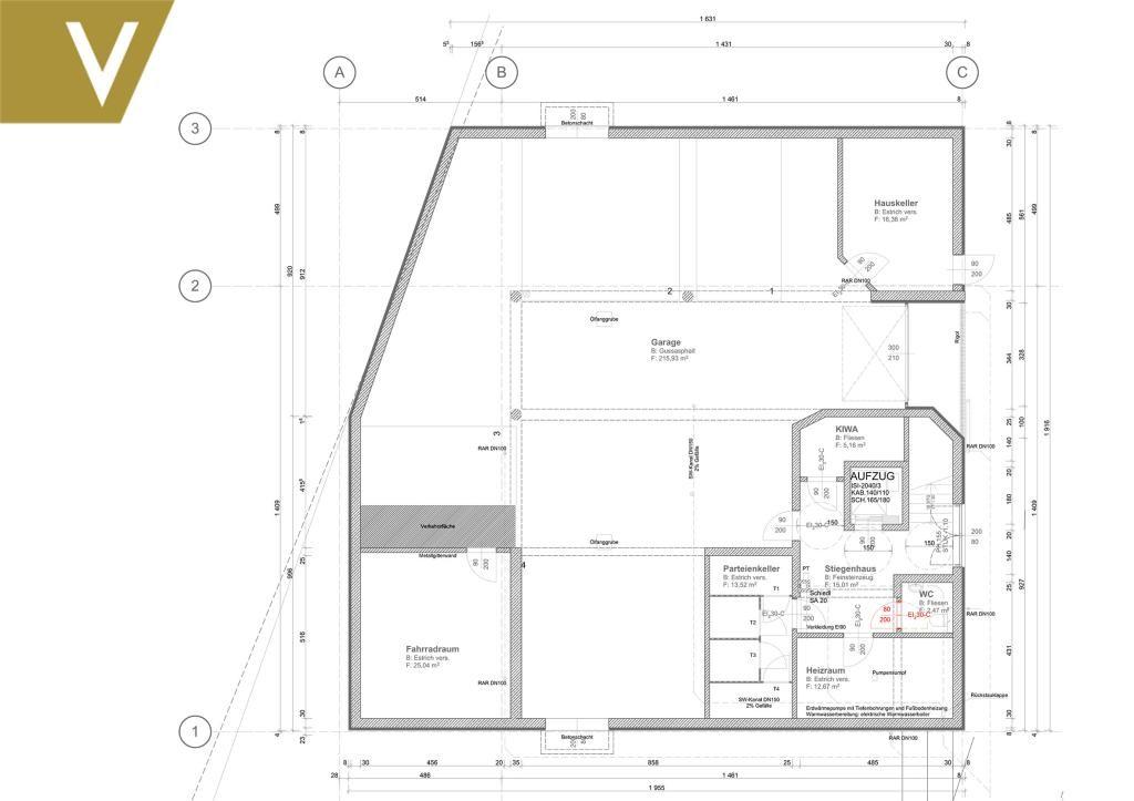 Vier-Familienhaus im Erstbezug mit Garten in Grinzing // Four-Apartment House on first occupation with garden in Grinzing // /  / 1190Wien / Bild 6