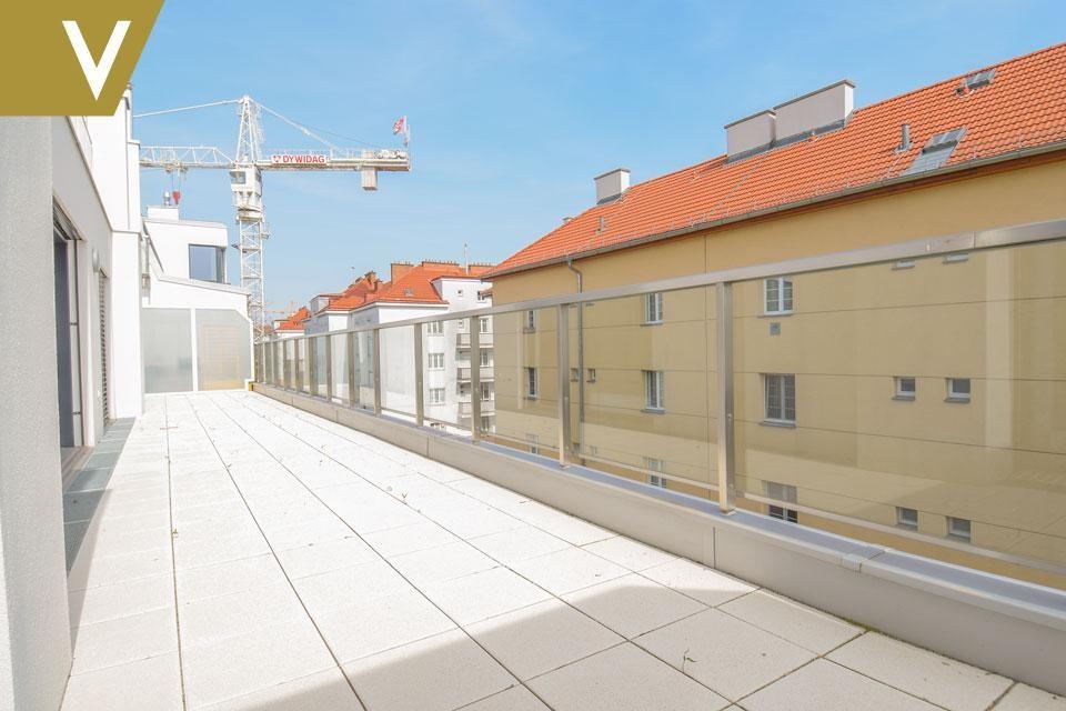 Eine Traumwohnung mit unverbaubarem Blick auf die Donau PROVISIONSFREI // A dream apartment with unobstructed view over the Danube COMMISSION FREE /  / 1210Wien / Bild 1