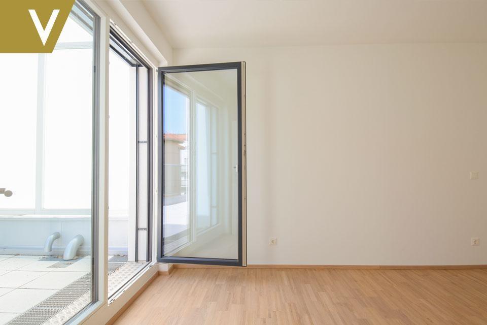 Eine Traumwohnung mit unverbaubarem Blick auf die Donau PROVISIONSFREI // A dream apartment with unobstructed view over the Danube COMMISSION FREE /  / 1210Wien / Bild 3