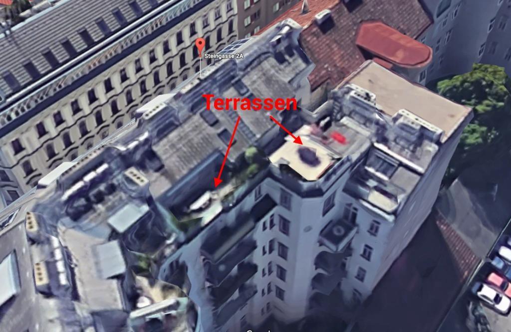 Exklusive DG Wohnung 183 m2 - 5 Zi - Klima - 60 m2 Terrassen /  / 1030Wien, Landstraße / Bild 0