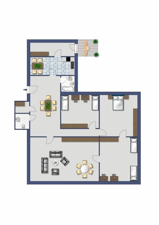 4-Zimmer Altbauwohnung, WG-geeignet, Stilaltbau in Ruhelage /  / 1090Wien, Alsergrund / Bild 5