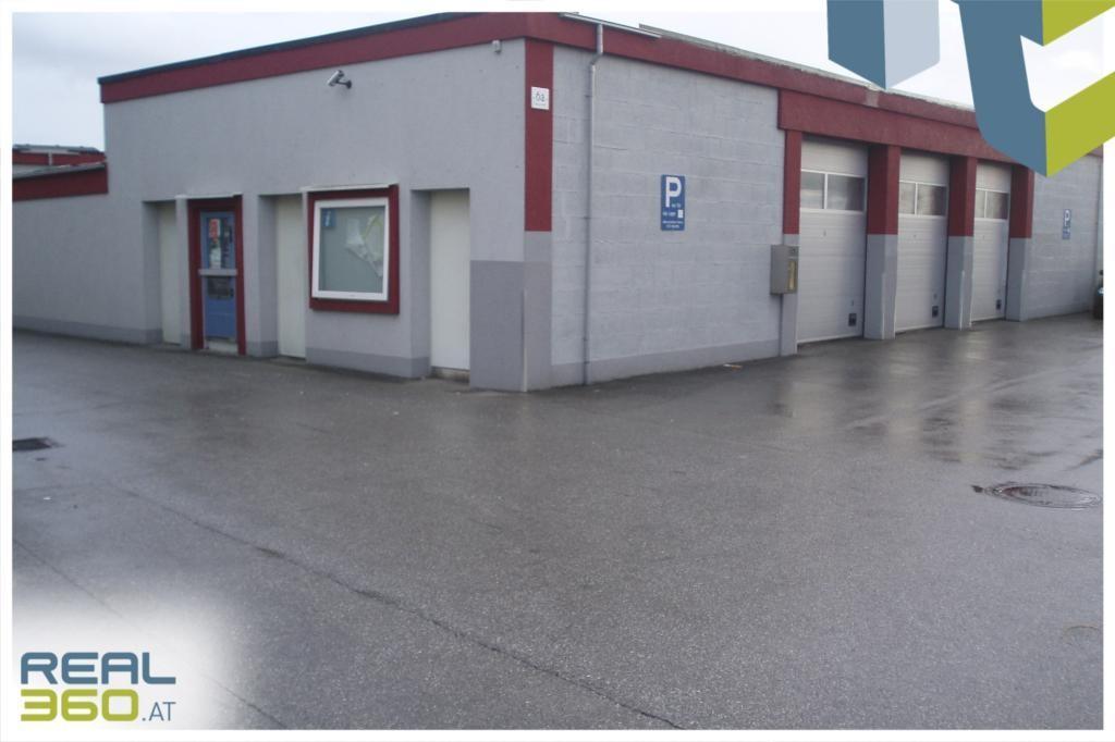 Außenansicht Lager/Garagen